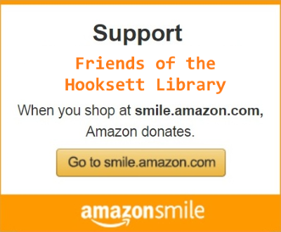 Friends of the Library - Amazon Smile Promo Badge