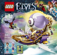 LEGO ELVES : Aira's Airship & the Amulet Chase.