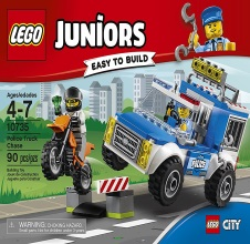 LEGO JUNIORS : Police Truck Chase.