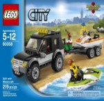 LEGO CITY SUV with Watercraft 60058