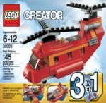 LEGO CREATOR Red Rotors ; Red Thunder