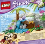 LEGO Friends Turtle's Little Paradise ; Tiger's Beautiful Temple ; Penguin's Playground