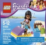 LEGO Friends Water Scooter Fun ; Olivia's Beach Buggy ; Emma's Lifeguard Post