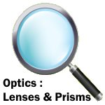 science kit logo - optics-lenses-prisms